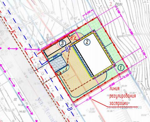 Схема планировки земельного
